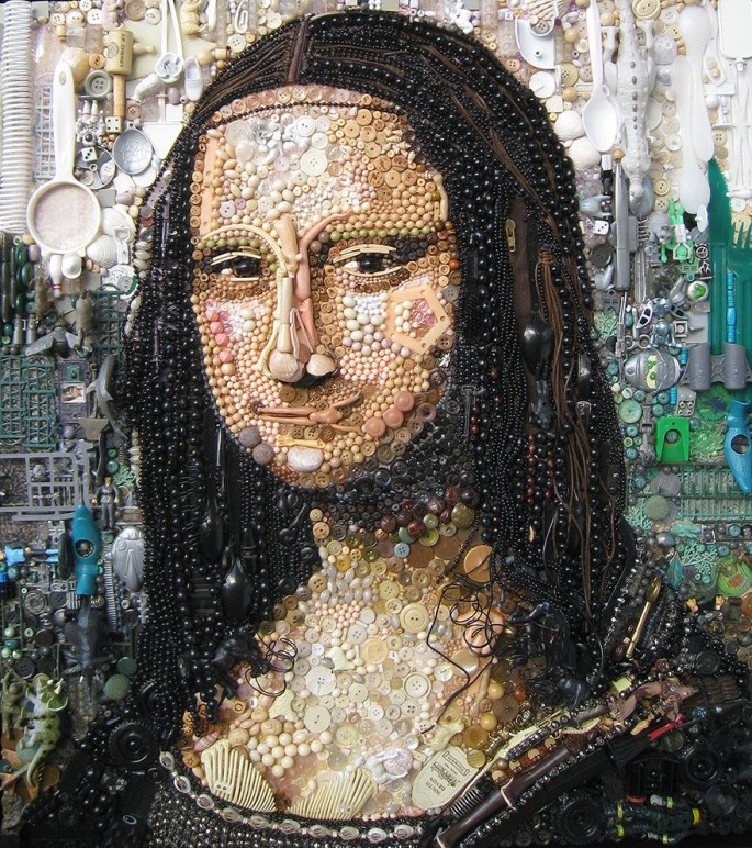 Mona Lisa by Jane Perkins