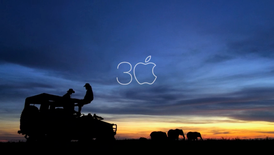 Mac 30 years video screenshot