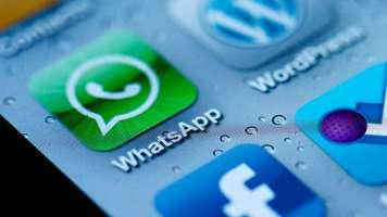 WhatsApp launcher icon on ios