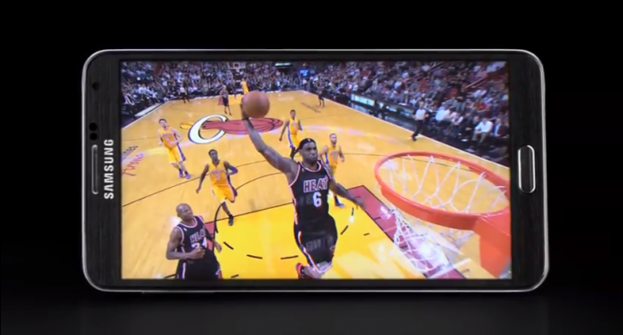 Samsung Galaxy Note 3 LeBron James