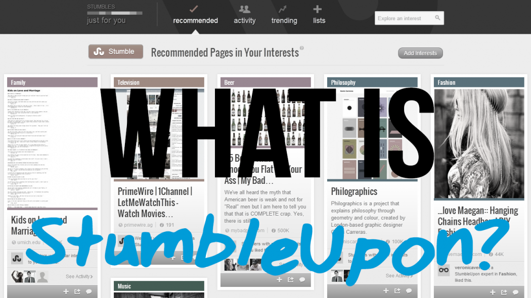 What-is-StumbleUpon