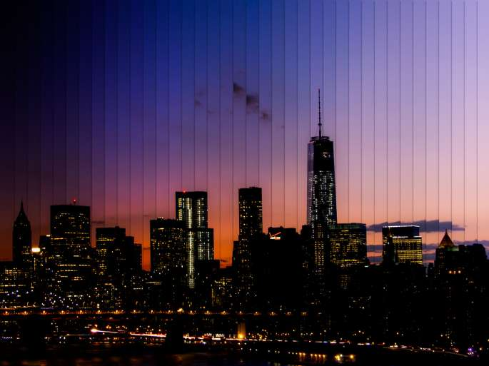 manhattan skyline timelapse