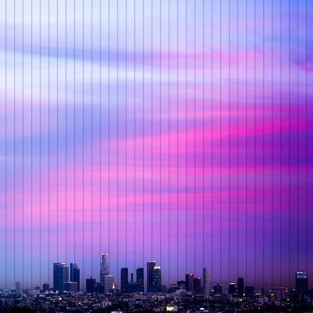 los angeles twilight timelapse