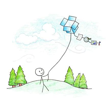 Dropbox kite