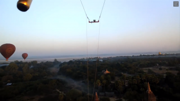 Google Glass diaries hot air balloon pilot