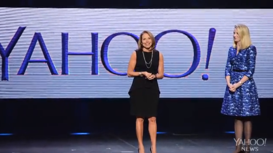 katie couric yahoo news global anchor