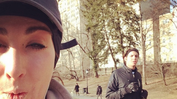 kellykkroberts Instagram NYC half marathon