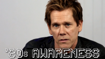 Kevin Bacon '80s awareness video for millennials