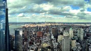 new york skyline with 1 world trade center