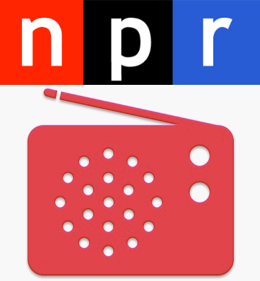 npr and itunes radio logos