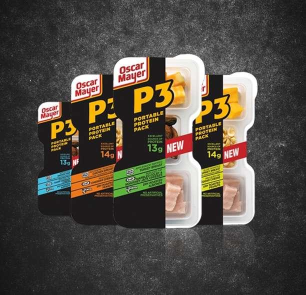 Oscar Mayer portable protein packs