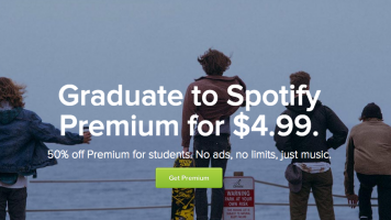 spotify premium student discount promotion page