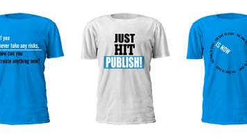 DashBurst poster shirts