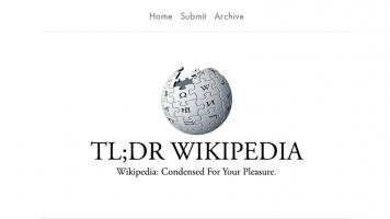 TL DR Wikipedia