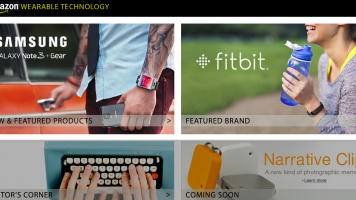 amazon.com wearable technology store