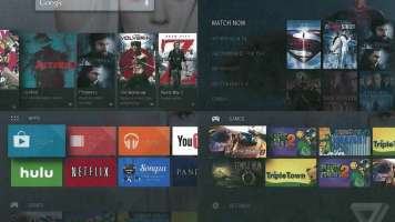 Android TV screenshot