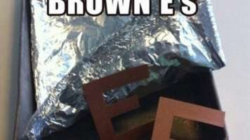 brown e's april fool's day prank