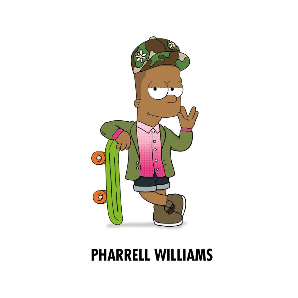 Cartoon Characters As Rappers : Artist turns pop singers and rappers into famous cartoon