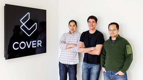 Founders of Cover android lockscreen app