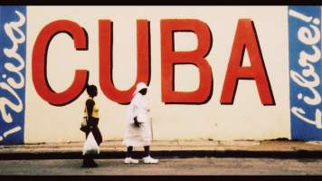 "Wall with the word ""Cuba"" painted on it, photo by flippinyank"