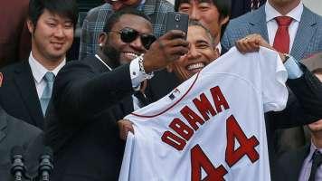 david ortiz obama selfie