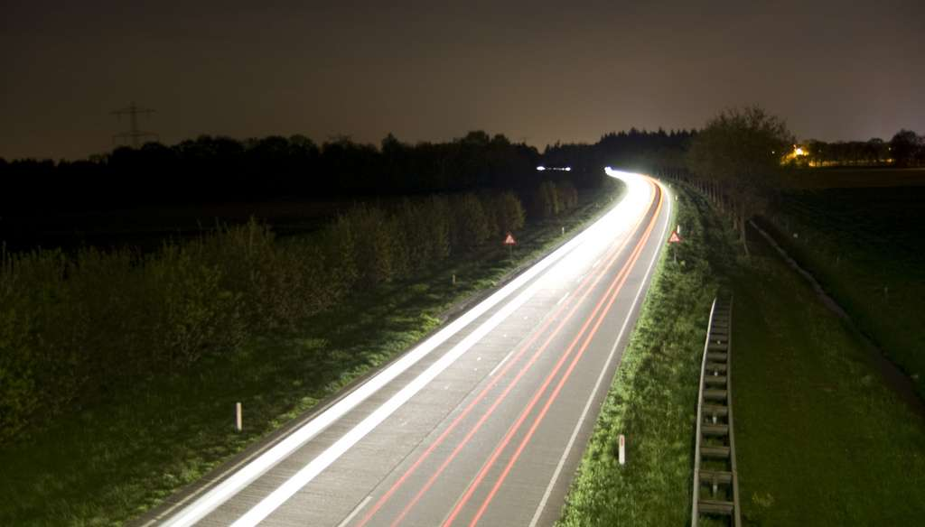 luminescent road