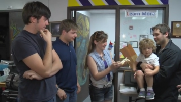 teens create prosthetic hand