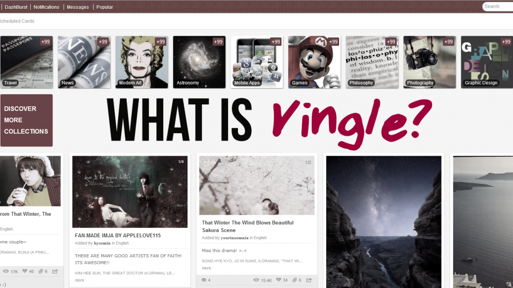 what is Vingle