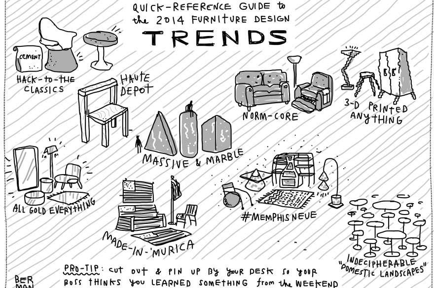 Furniture Design Trends 2014 delighful furniture design trends 2014