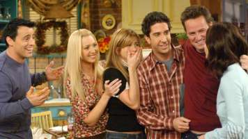 FRIENDS cast on series finale