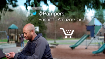 buying Pampers through AmazonCart