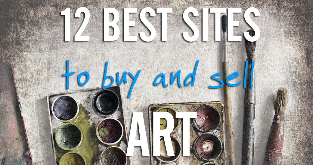 12 best places to buy and sell art online for Best website to sell art