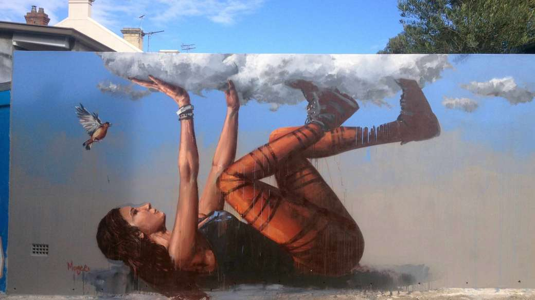 Bracing a Falling Sky by Fintan Magee