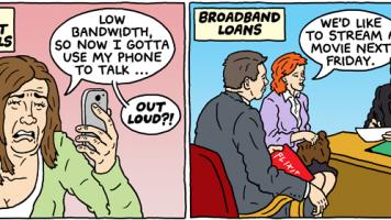 internet slow lane