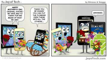 iphone mother