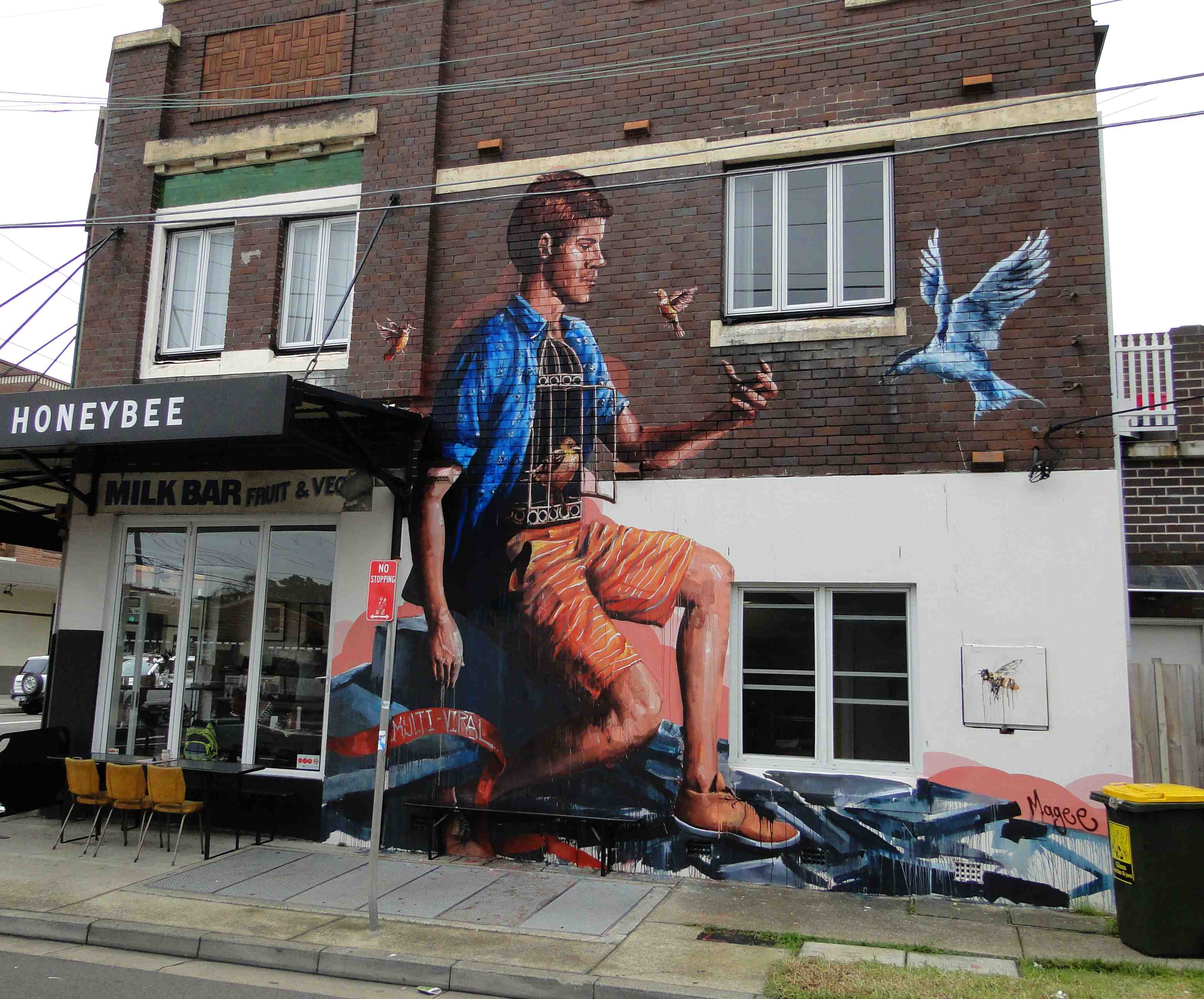 9 whimsical street murals that will bring out your for Australian mural