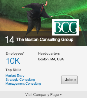 14. boston consulting group
