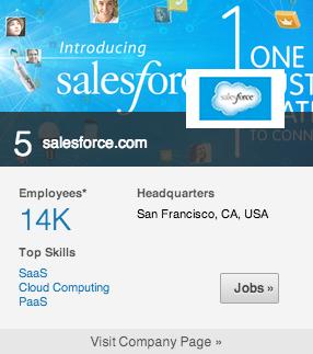5. salesforce