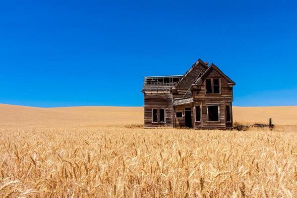 Abandoned home Oregon