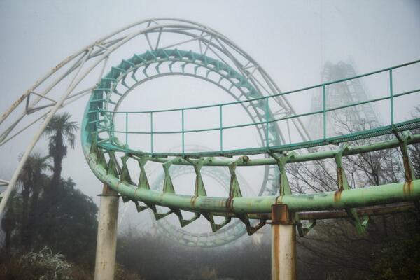 Abandoned rollercoaster Chris Luckhardt
