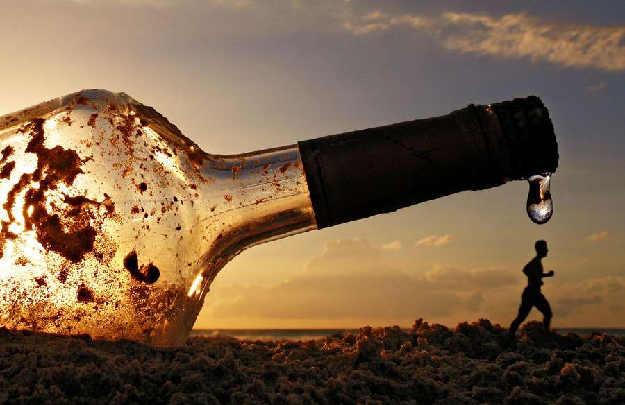 13 Forced-Perspective Photographs that Make Empty Glass