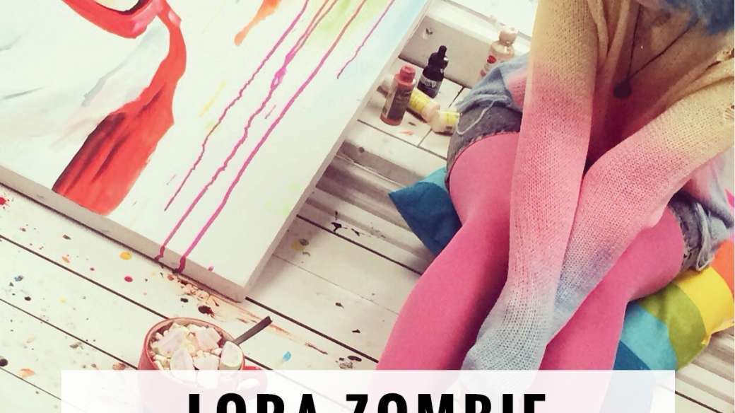 lora zombie backward amnesia flyer