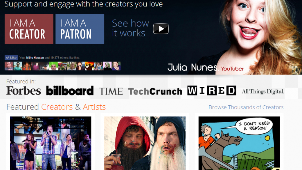 Patreon  Support the creators you love