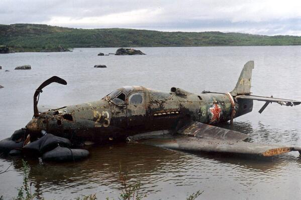 abandoned P-39Q