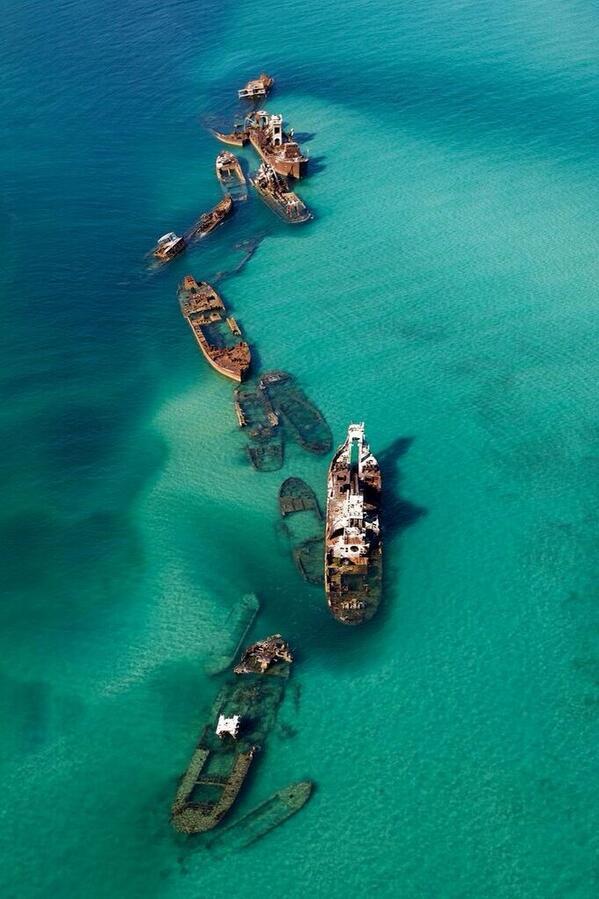 abandoned Shipwreck Bermuda Triangle
