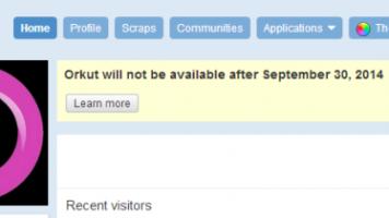 orkut shutdown
