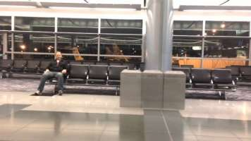 This Is Possibly the Best Way to Use Your Time When You're Stuck in an Empty Airport